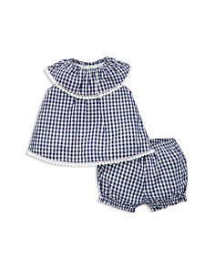 Little Me - Girls' Gingham Tunic & Shorts Set - Baby