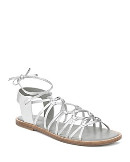Vince - Women's Palmera Leather Lace Up Sandals