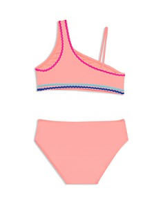 Gossip Girl - Girls' Asymmetric Two-Piece Swimsuit - Big Kid