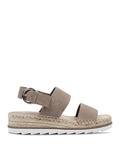 Marc Fisher LTD. - Women's Phebe 2 Embossed Suede Espadrille Platform Sandals