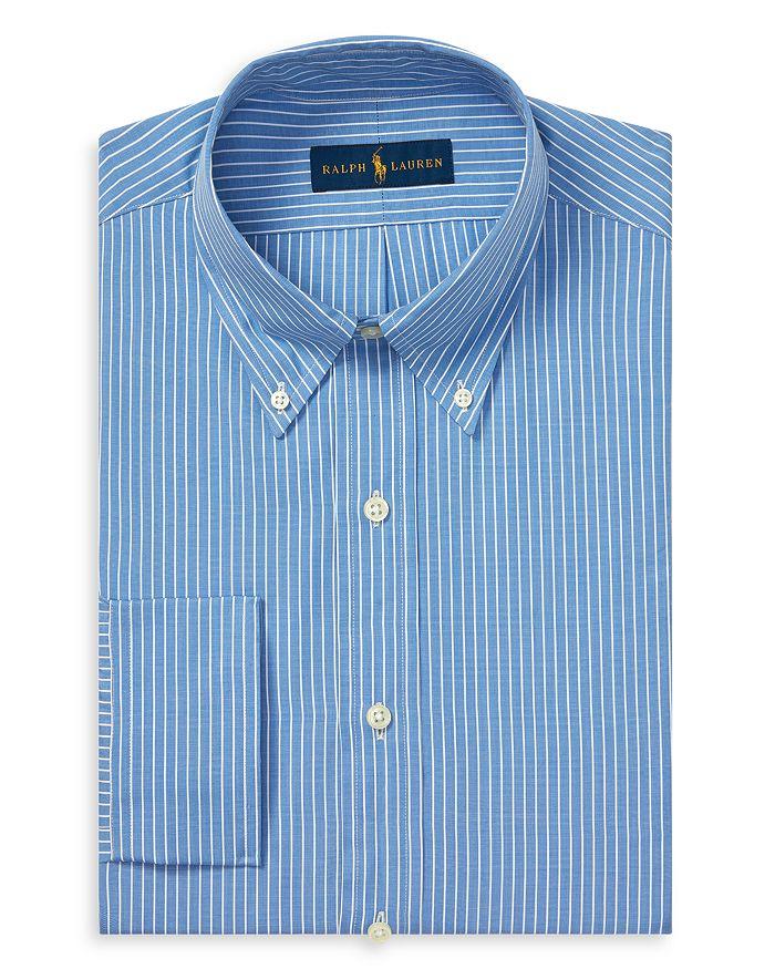 89da38751924 Polo Ralph Lauren Striped Oxford Slim Fit Dress Shirt | Bloomingdale's