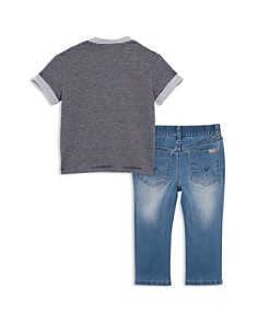Hudson - Boys' Dylan Henley Top & Slim-Straight Jeans Set - Little Kid