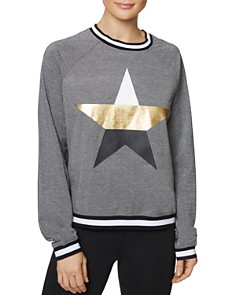 Betsey Johnson -  Graphic-Star Sweatshirt