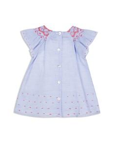 Tartine et Chocolat - Girls' Ruffle-Sleeve Seersucker Dress - Baby