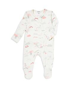Angel Dear - Girls' Stork Footie - Baby