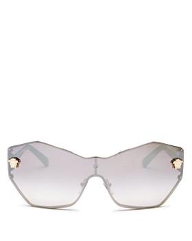 57e46dc8fa Versace - Women s Mirrored Shield Sunglasses