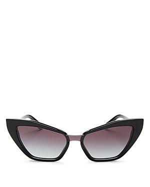 Dolce & Gabbana Women's Cat Eye Sunglasses, 55mm