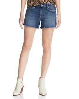 Joe's Jeans - Ozzie Frayed Denim Shorts in Alma