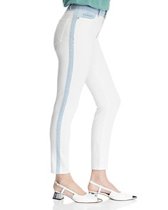 DL1961 - Farrow Color-Block High-Rise Skinny Jeans in Abis - 100% Exclusive