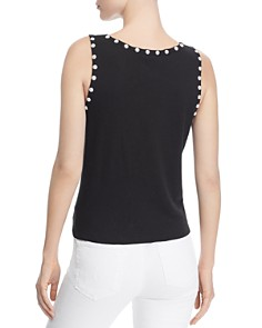 Generation Love - Perla Tie-Hem Faux-Pearl Top