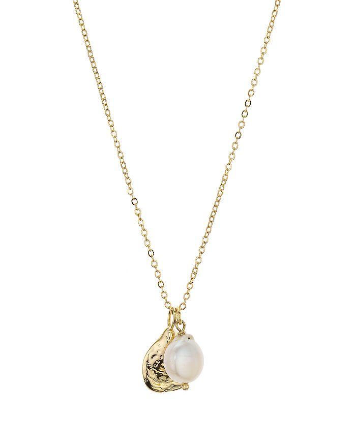 "AQUA - Cultured Freshwater Pearl Pendant Necklace, 18"" - 100% Exclusive"