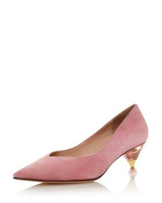 kate spade pink pumps