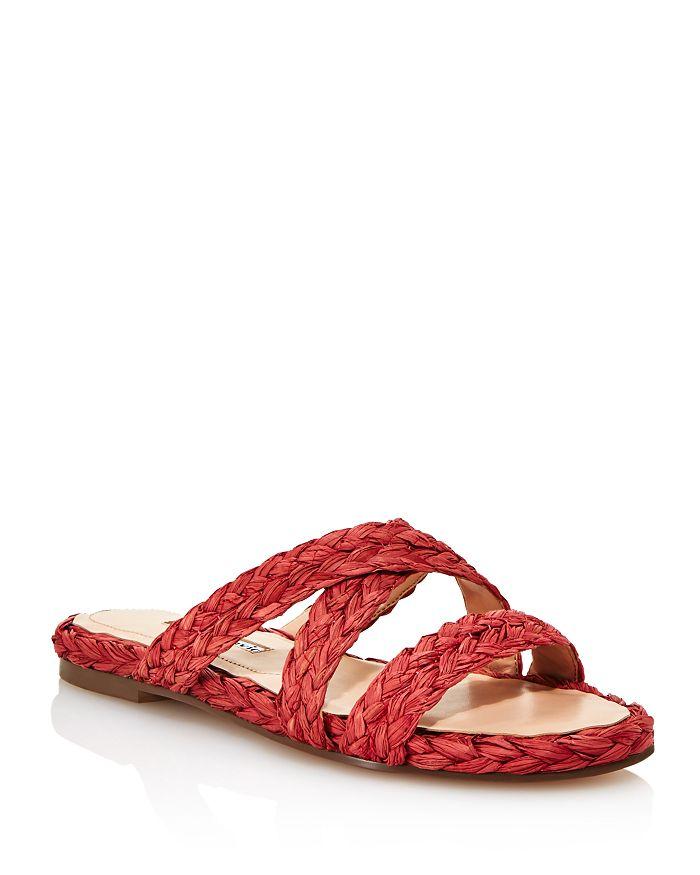 Charles David - Women's Sands Raffia Slide Sandals
