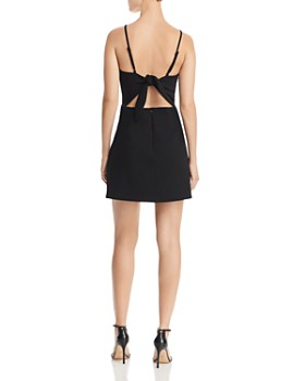 cb883b947213 FRENCH CONNECTION - Summer Whisper Tie-Back Mini Sheath Dress ...