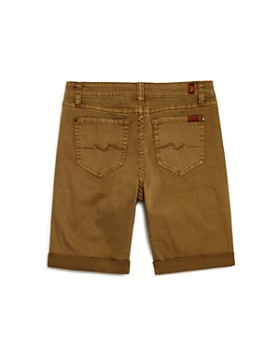 7 For All Mankind - Boys' Stretch-Twill Shorts - Little Kid, Big Kid