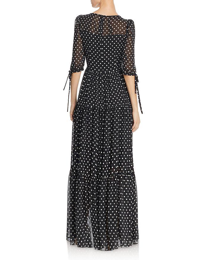 55cb376050e Betsey Johnson - Polka-Dot Maxi Dress