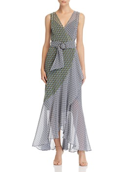 Fame and Partners - Printed Maxi Dress