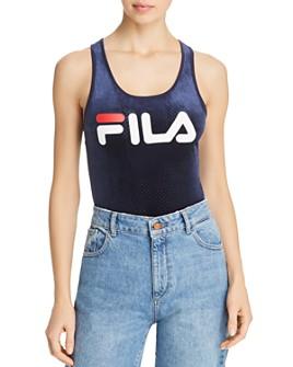 FILA - Lupita Logo Velour Bodysuit