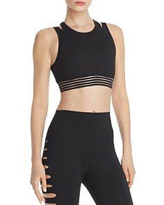 Alo Yoga - Gaze Layered Racerback Sports Bra