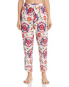 Josie - Suzani Abstract Drawstring Pants - 100% Exclusive