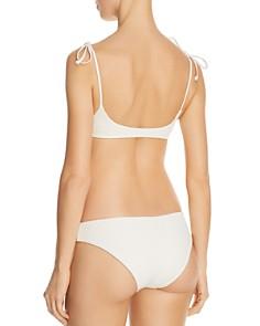 L*Space - Crossroads Textured Daisy Bikini Top & Crossroads Textured Sandy Bikini Bottom