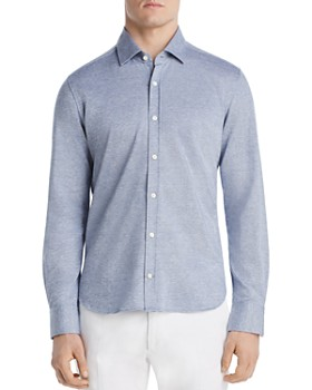 Dylan Gray - Piqué Classic Fit Shirt - 100% Exclusive