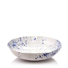 VIETRI - Aurora Ocean Splatter Shallow Bowl - 100% Exclusive