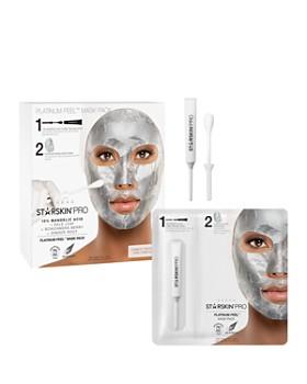 STARSKIN - Pro Platinum Peel Mask Pack 10% Mandelic Acid + Kale Leaf + Schinzandra Berry + Ginger Root