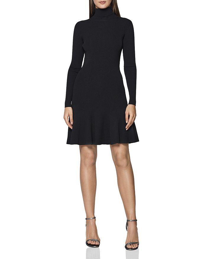 a30c026c36d REISS - Mimi Turtleneck Mini Dress