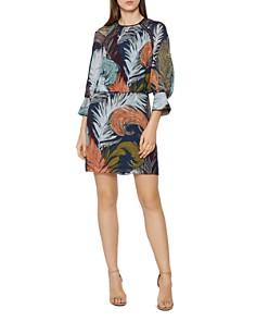REISS - Namina Feather-Print Dress