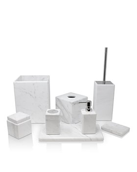 Waterworks - Studio White Marble Bath Accessories
