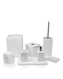 Waterworks - Studio White Marble Bath Accessories