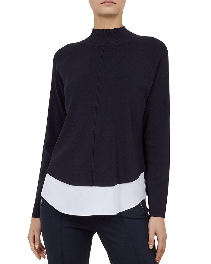 e0e3e51ae98a Ted Baker - Popilia Layered-Look Sweater