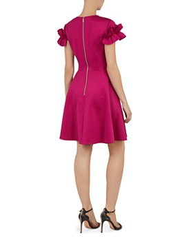 201942b3318c2d ... Ted Baker - Luuciee Ruffle-Trimmed Dress