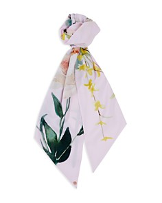 Ted Baker - Embber Elegant Floral Skinny Scarf