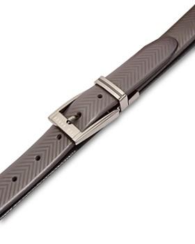 Ted Baker - Hammok Herringbone Reversible Leather Belt