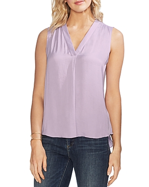 Vince Camuto Tops V-NECK RUMPLE BLOUSE