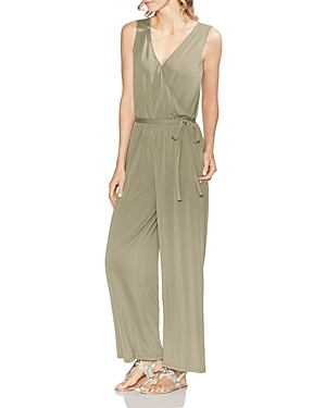 Vince Camuto Suits SLEEVELESS WIDE-LEG JUMPSUIT