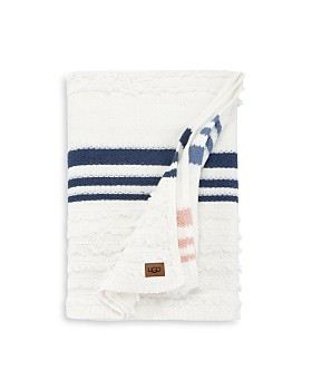 UGG® - Solana Stripe Throw