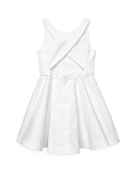 Ralph Lauren - Girls' Cotton Pique Dress - Little Kid