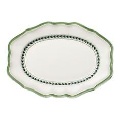 Villeroy & Boch - French Garden Green Lines Oval Platter
