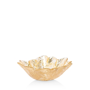 Vietri Moon Glass Leaf Small Bowl-Home