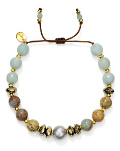 Chan Luu - Adjustable Mixed-Stone Bracelet
