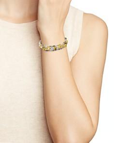 Chan Luu - Stone Beaded Leather Bracelet