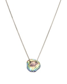 Chan Luu - Cultured Freshwater Pearl Pendant Necklace in 18K Gold-Plated Sterling Silver or Sterling Silver, 16""