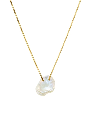 Chan Luu Cultured Freshwater Pearl Pendant Necklace in 18K Gold-Plated Sterling Silver or Sterling Silver, 16