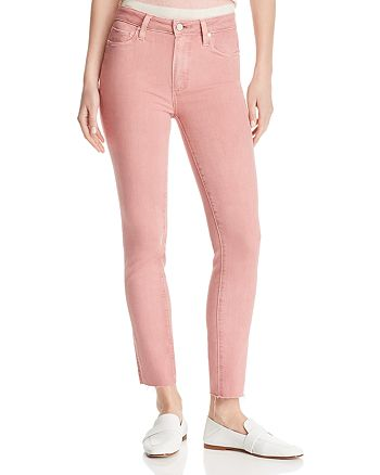 PAIGE - Verdugo Ankle Skinny Jeans in Vintage Ash Rose