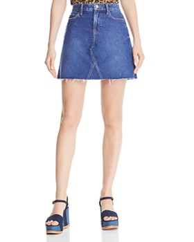 43a4907ba2 PAIGE - Aideen Denim Skirt in St. Clair ...