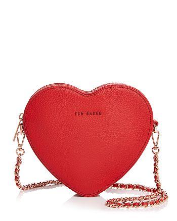Ted Baker - Amellie Leather Heart Crossbody