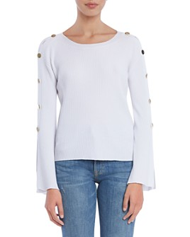 Bailey 44 - Bel Esprit Button-Sleeve Sweater